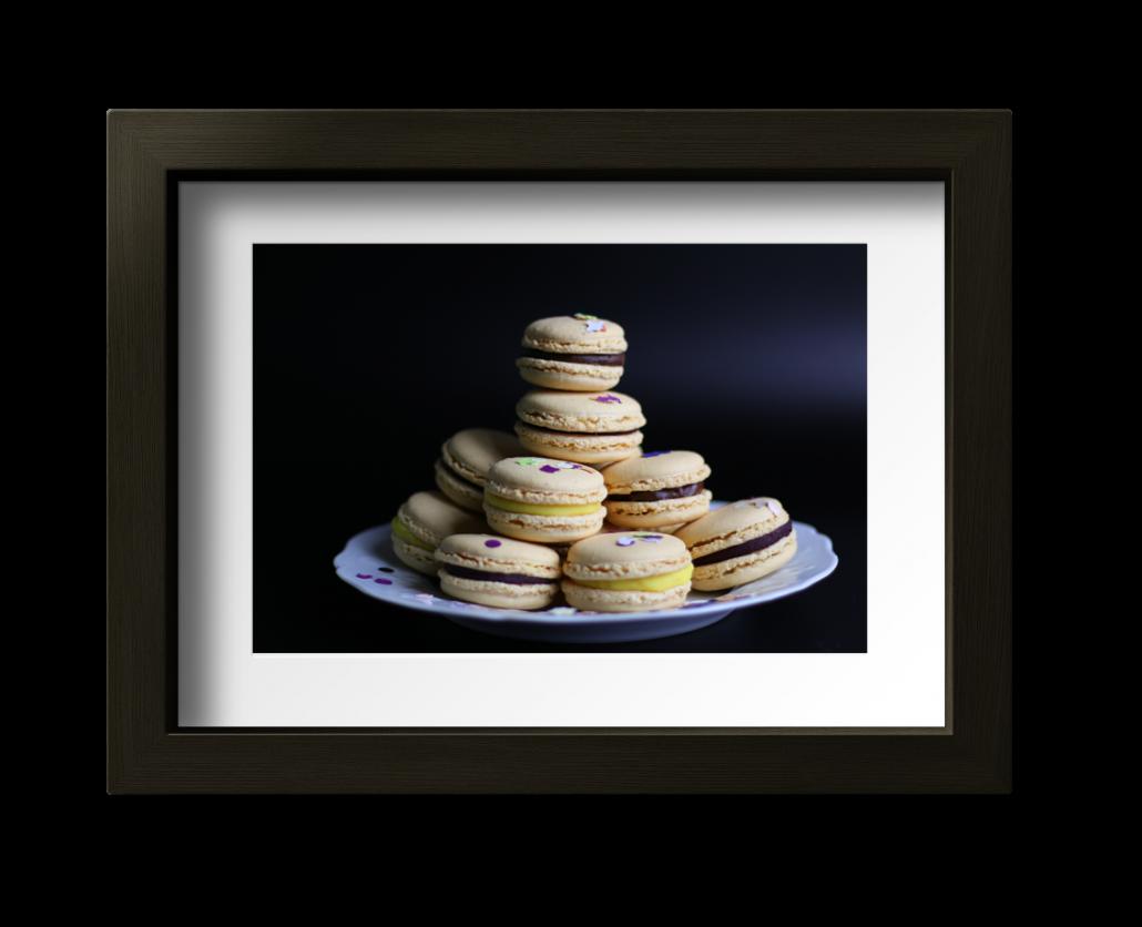 Photos de macarons
